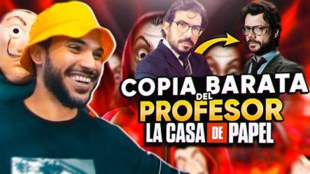 DEMANDO AL DOBLE DEL PROFESOR De LA CASA DE PAPEL Por €10,000 (Broma Telefónica)