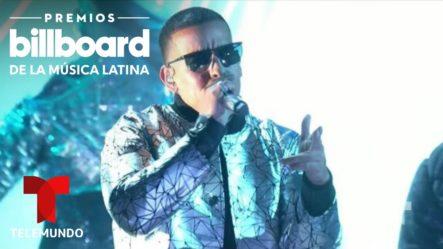 Presentación De Daddy Yankee, Anuel AA, Kendo Kaponi Y Sisqó Cantan 'Don Don'