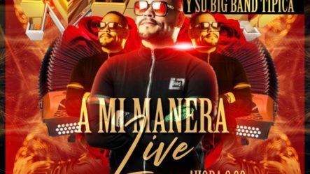 Masa Y La Big Band Tipica Live Concert | A Mi Manera