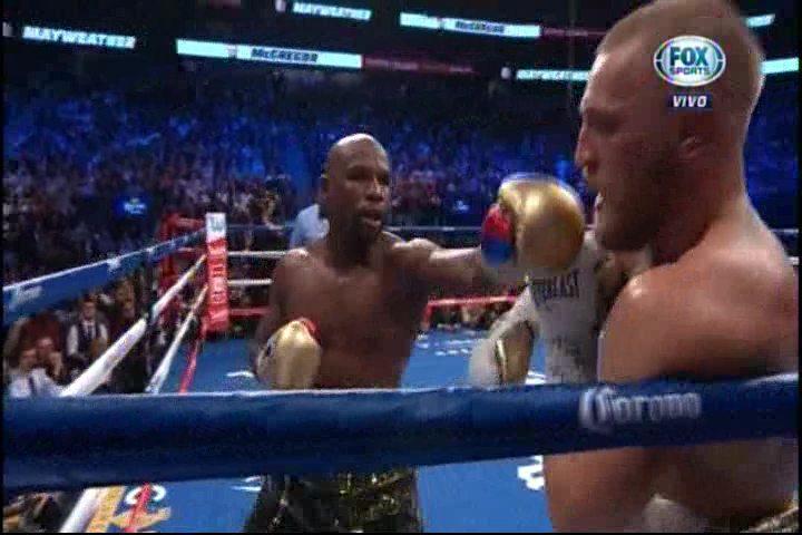 Floyd Mayweather Jr. Derrota A Conor McGregor Por Nocaut Técnico En 10 Rounds
