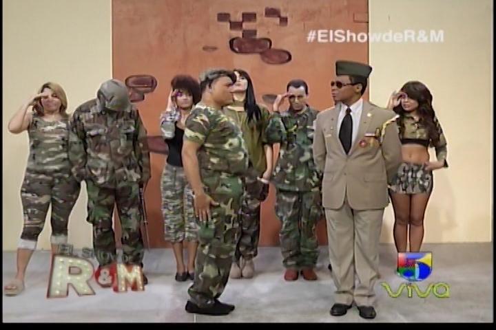 El Sargento Jhonny Bravo Y La Milicia De El Show De Raymond Y Miguel