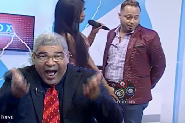 "Jesus Nova Explota Contra El Video Donde ""Presentadora"" Le Agarra Algo A Productor"