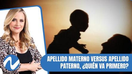 Nuria Piera: Apellido Materno Versus Apellido Paterno, ¿quién Va Primero?