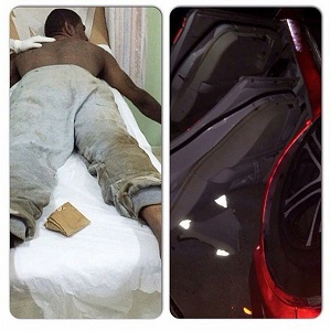 Imagenes – Omega Sufre Aparatoso Accidente #Fotos