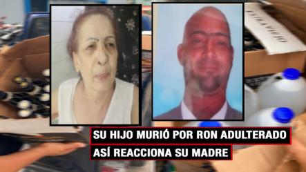 Su Hijo Murió Por Ron Adulterado Y Los Culpables Siguen Sueltos