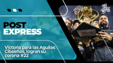 Victoria Para Las Aguilas Cibaeñas Logran Su Corona #22 | Post Express
