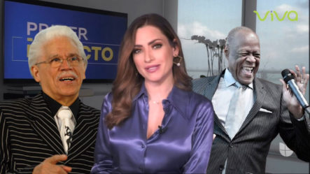 Presentadora De Primer Impacto Comete Un Grave Error A Confundir Al Johnny Ventura Con Johnny Pacheco