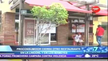 Pro-Consumidor Cierra Otro Restaurante Por Falta De Higiene En La Lincoln Y En Los Mameyes