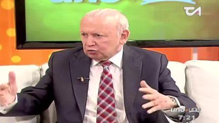 Rafael Alburquerque Afirma Que Las AFP Cobran Demasiado