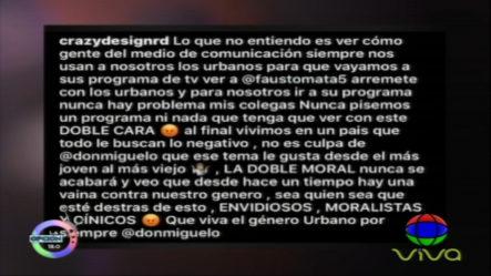 """La Opción: """"Entre El Amor Y El Odio Con Fausto Mata"""""""
