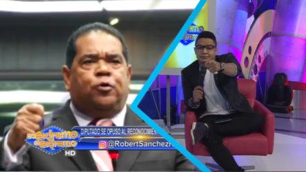 Robert Sánchez Habla Sobre El Diputado Que Se Opuso A Darle Un Reconocimiento A Anthony Ríos