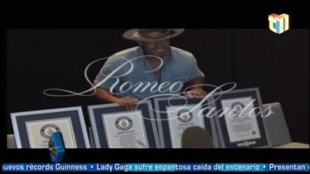 Romeo Santos Fue Reconocido Con Cuatro Records Guinness