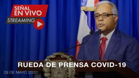 Live: Rueda De Prensa Del Ministro De Salud Pública   Boletín #71