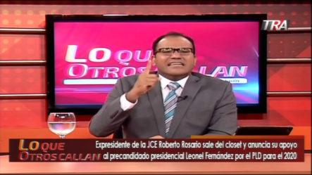 """Salvador Holguin Llama Bandido A Roberto Rosario Luego Que """"Saliera Del Closet"""""""