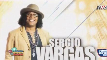 Sergio Vargas Rompe En Pégate Y Gana Con El Pachá   Pégate Y Gana Con El Pachá