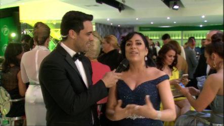 Entrevista A Diana Filpo En El Pre-Show Premios Soberano 2019
