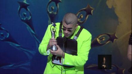 Bad Bunny Recibe Soberano Internacional En Premios Soberano 2019