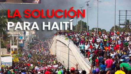 """""""Con Haití No Se Puede"""". Johnny Vásquez Dice Lo Que Hay Que Hacer Para Resolver El Problema Haitiano"""
