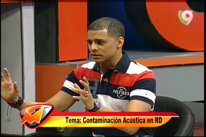 Manny Peralta Analisa Contaminación Acústica En RD #Video