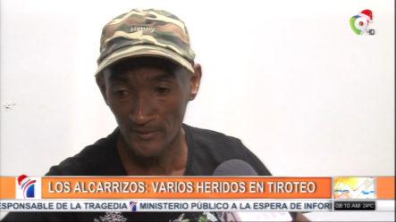 Varios Heridos En Tiroteo Originado Por Desconocidos En Los Alcarrizos