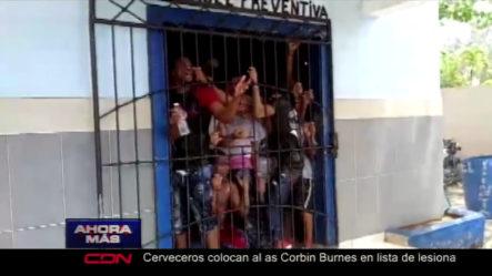 Todos Los Detalles Del Incendio En Cárcel De La Romana Que Dejó 24 Reclusos Con Quemaduras