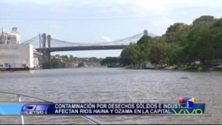 La Contaminación Por Desechos Sólidos E Industriales Afectan Ríos De La Capital