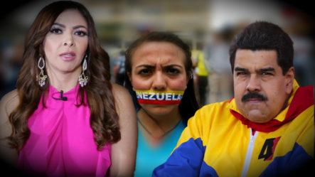 Beba Rojas Habla Sobre La Situación Actual De Venezuela -Interview