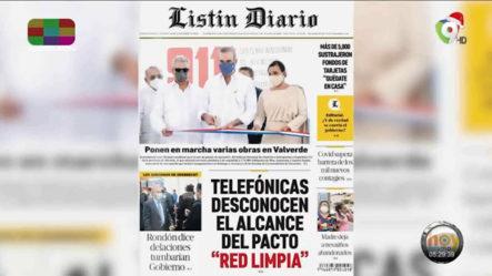 Las Principales Portadas De Los Periódicos En El Día De Hoy 20 De Noviembre Del 2020