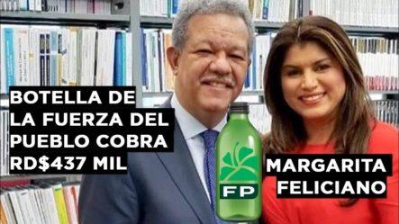 REVELANDO LA BOTELLA DE LA FUERZA DEL PUEBLO QUE COBRA RD$437 MIL: LA ESPOSA DE FREDDY PÉREZ