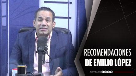 Recomendaciones Del Abogado Emilio López Para La Policía Nacional