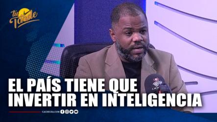 Dr. Freddy Minaya Abogado E Investigador Privado Nos Dice Que El País Tiene Que  Invertir En Inteligencia