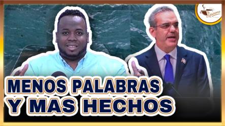 """Elvin Castillo: ¡Felicidades, Presidente! """"Hay Que Pasar Del Discurso A Los Hechos"""""""